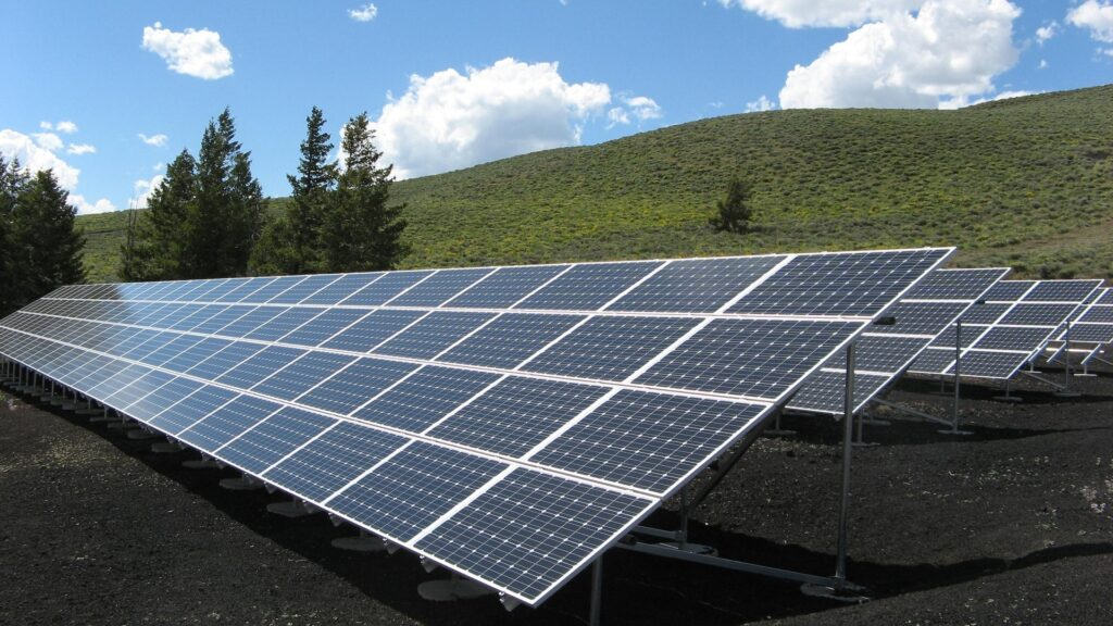 Solar panels for sustainable energy